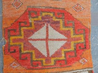 Old Cappadocia Rug Fragment  size.115x65cm