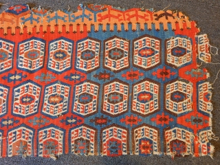 Antique South East Anatolian Kilim Size.280x65cm