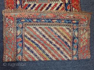 Antique Caucasian Sirvan Rug  size.140x70cm
