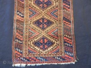 Old Baluch Balısh Rug size.81x47cm