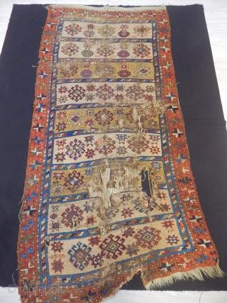 Old East Anatolian Rug size.210x100cm