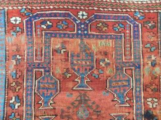 Old Bergama Kozak Rug size.110x95cm