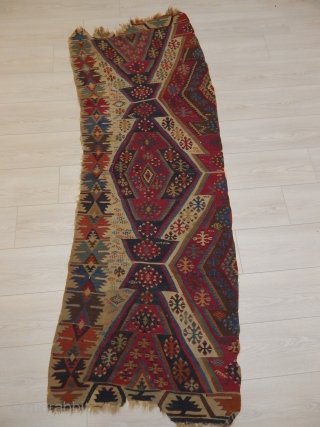 Old East Anatolian Kilim Part