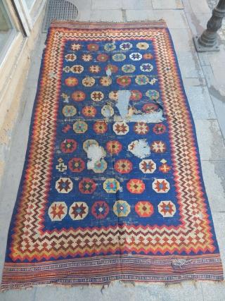 Old Qashqaii Kilim  size.270x150cm