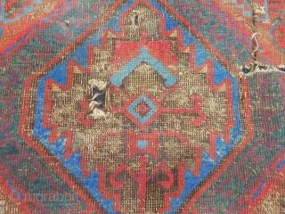 Old Karapınar Fragment Rug