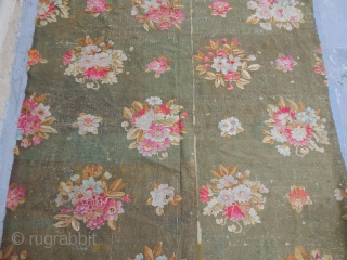 Antique Aubusson- France Kilim 