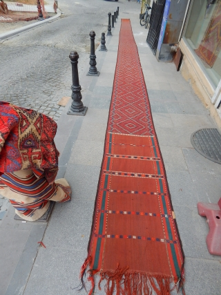 Old Turkmen Tend Bant size.15'60x60 cm