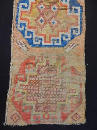 Antique Cappadocia Carpet Fragment size.182x67cm