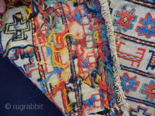 Old Sahsavan Sumak Bagface size.45x53cm