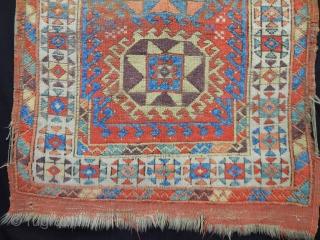 Antique Anatolian Carpet size.150x130cm