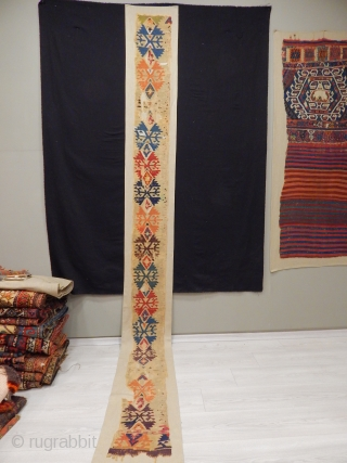 Old East Anatolian Kilim Bordur