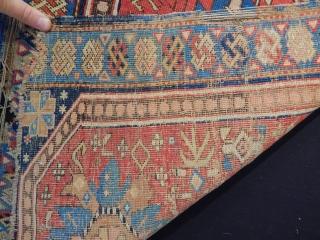 Old Kuba Sirvan Bagface size.67x62cm