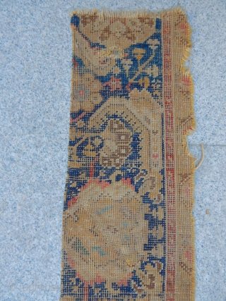 Antique Trasilvany Carpet Bordur 