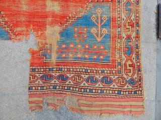 Antique West Anatolian Cal Carpet