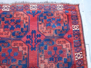 Antique Turmen Ersari Main Carpet