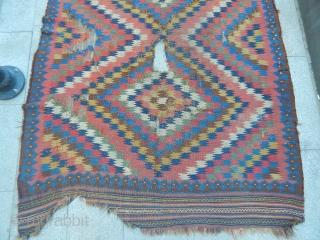 Old Qashqaii Kilim  size.230x160cm