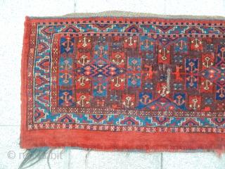 Old Turkmen Yamut Torba size.43x90cm
