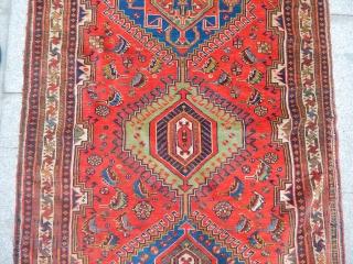 Old Qashqaii Carpet size.175x100cm
