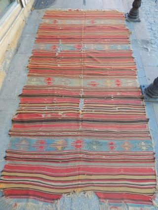 Old West Anatolian Kilim  size.310x160cm