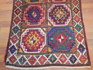 Old Caucasian Mogan Kazak Carpet
