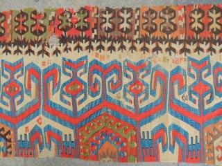 Antique Anatolian Kilim  Size.250x85cm
