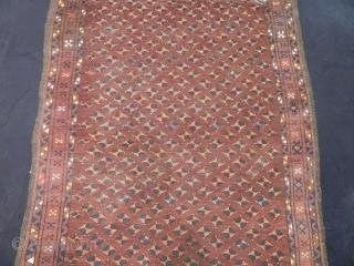 Old Turkmen Ersari Prayer Rug