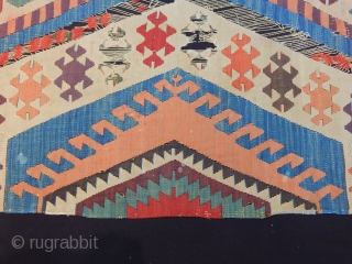 Old West Anatolian Kilim Fragment 