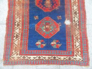 Old Caucasian Borjalı Prayer Carpet size.180x115cm