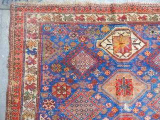 Old Qashqaii Şiraz Carpet