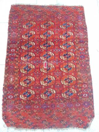 Old Turkmen Tekke Carpet  size.160x108cm
