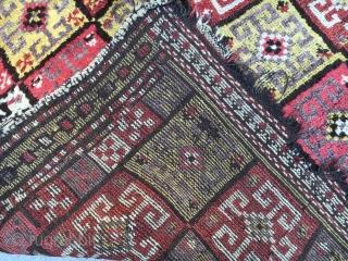 Anatolian Bozkir Yoruk Carpet