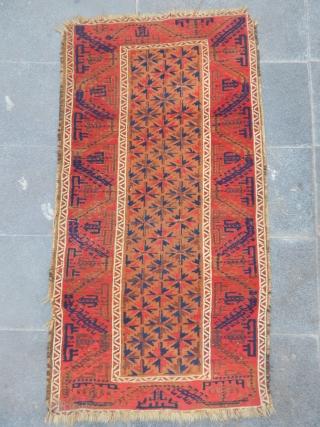 Old Baluch Carpet size.130x70cm