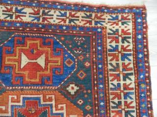 Caucasian Mogan Kazak Rug size.240x143cm