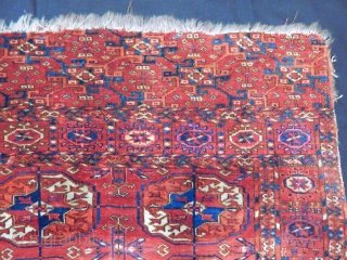 Old Turkmen Tekke Carpet