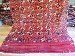 Antique Turkmen Tekke Main Carpet