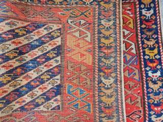 Old Caucasian Sirvan Panel
