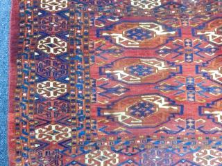 Old Turkmen Kızılayak Chuval size.85x125cm