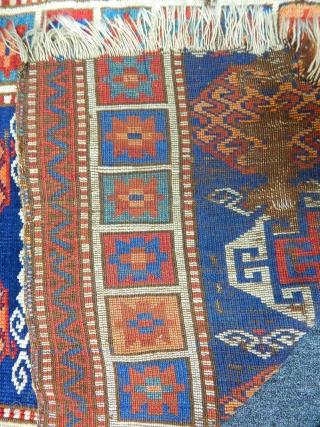 East Anatolian Savak Carpet Fragment size.155x105cm