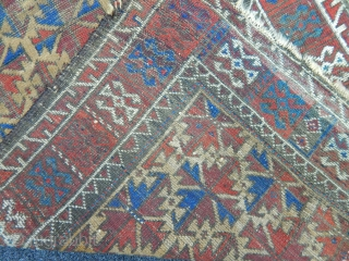 Wonderfull Baluch Carpet size.145x72cm