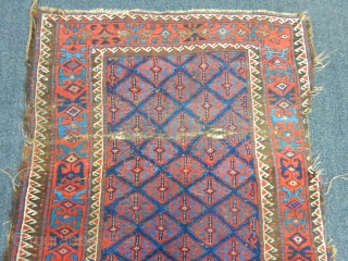 Old Baluch Carpet size.155x115cm
