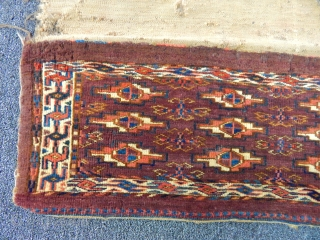 Old Turkmen Yamut Torba