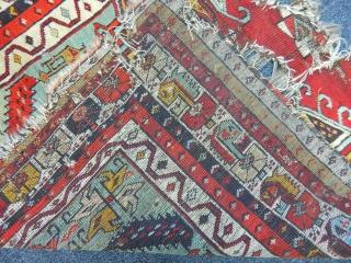Antique Konya Ladik Prayer Carpet