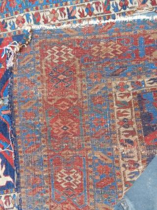 Antique Kuba Sirvan Carpet