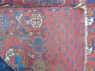 Turkmen Tekke Carpet size.290x190cm
