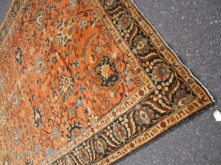 mahal persian rug some wear as shown solid rug clean no dry rot no repair ends and sides are good 675.00 or best offer plus shipping. SOLDDDDDDDDDDDDDDD
