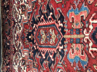 Heriz rug 9x12 good condition 895.00  SOLD THANKS