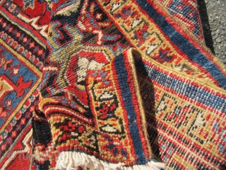 """very clean heriz rug very good retail condition no work needed great size 9' x 10' 8""""can send more picture if interested 1800.00  SOLD THANKS"""