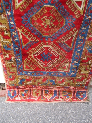 """antique konya rug great drawing great colors very good pile nice and clean collector rug 48"""" x 74"""" ready to go. SOLDDDDDDDDDDDDDDDDDDDDDDD"""