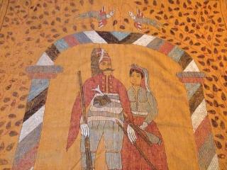 Old ottoman Textile  9x6 ft