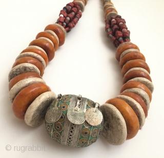 Tibeten berber necklace - home wall decorative .
